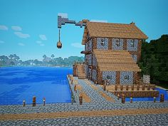 Minecraft # Hafenstadt