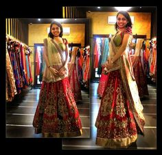 Where to buy Bridal Lehengas in Ahmedabad : With Photos & Info ! | WedMeGood