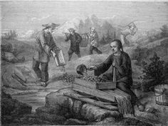 chinese launders during the gold rush | Chinese Miners in Yosemite washing for Gold