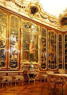 Schonbrunn Palace interior , Vienna , Austria