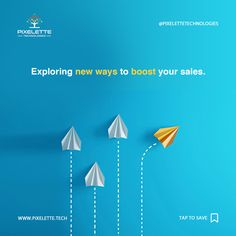 Dearth of solutions is becoming an obstacle in acquiring business leads? Worry not! Pixelette Technologies are experts at exploring new ways to boost your sales.  #Pixelette #Technologies #Technological_Solutions #Exploring #Boosting_Sales #Removing_obstacles #Digital_Haven It Service Provider, App Development, Exploring, Digital Marketing, Graphic Design, Technology, Business, Tech, Tecnologia