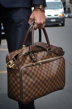 #MensFashion #Men #Fashion #Accessories #Bag #LouisVuitton #LVMH