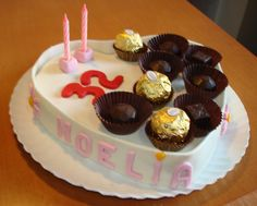 Tarta decorada caja de bombones / Box of chocolates cake