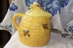 Honey Pot Vintage Tableware Kitchenware by AbsoluteNecessity4u, $16.00