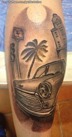 Tatuaje Coches