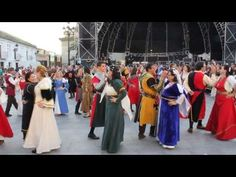 "I've been looking for a dance during which my heroine and her father could have a fairly extended conversation. Do you know how hard that is to find in medieval dance?! Song: ""The Clock Ticks On"" by Blackmore's Night. (Bailes medievales en las Capitulaciones de Santa Fe - YouTube)"