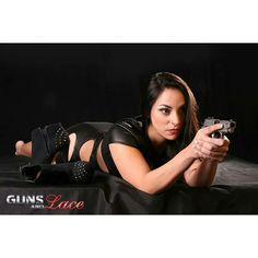 Girls With Guns On Pinterest Guns Covergirl And Lace