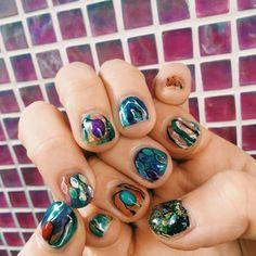 いいね!117件、コメント1件 ― Mさん(@by_mm5)のInstagramアカウント: 「new nail #newnail #nailart #nail」