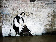 Street art: les pochoirs de Banksy en chair et en os - Le nouvel Observateur