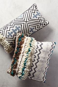 Tufted Ariany Pillow #anthropologie
