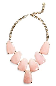 This glossy bib necklace from Kendra Scott will make add the perfect touch of glam to any outfit.