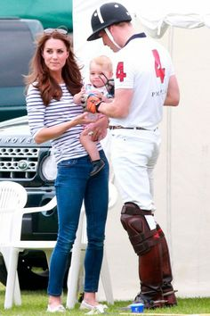 The Cambridges  at The Polo on Fathers Day 15th June, 2014