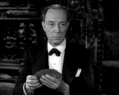 Buster Keaton's cameo appearance in SUNSET BOULEVARD (1950)  One of the greatest stars of the silent era, he appears in Sunset Boulevard as one of Norma Desmond's (Gloria Swanson) bridge-playing acquaintances. He sits with typically deadpan demeanor alongside fellow silent movie notables, Anna Q. Nilsson & H. B. Warner, a crestfallen presence in the middle of Billy Wilder's great Hollywood tragedy. His cameo reflects the uncanny pathos of real-life when talkies ended Keaton's brilliant…