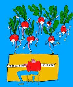It's Nice That : Illustration: Unadulterated joy courtesy of Oslo illustrator Mari Kanstad Johnsen