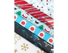 picture of Festive gift wrap multi-pack