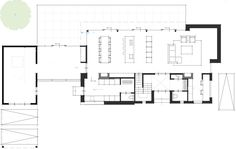 try to FIND the rest of the PLAN. Architectural Floor Plans, Drawing Interior, Villa, Architecture Plan, House Layouts, House Floor Plans, Planer, Building A House, Home And Family