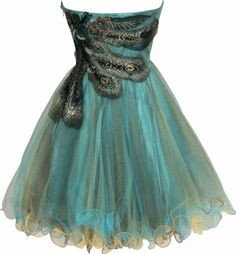 christmas outfits for women | Metallic Peacock Embroidered Holiday Party Prom Dress Junior Plus Size ...