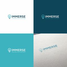 Immerse Insight & Strategy - Design a logo for Immerse - we understand people