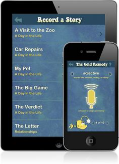 SparkleFish: mad lib type app   A hilarious audio story completion game for the iPhone and iPad that will have you laughing uncontrollably. Learn parts of speech while having fun! FREE!!!!!!