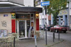 Café Goldmund from the outside- Köln © Ekkehart Schmidt