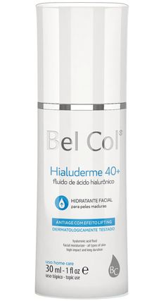 Hidratante Bel Col Hialuderme Fluido 40+