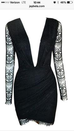 Black lace dress  Jaybela.com