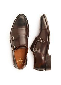 Zapatos monkstrap piel | HE Mango