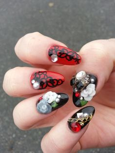 Gothic nails