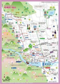 Download Kyoto maps youinjapannet Kyoto Pinterest Kyoto