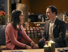"""Last night """"Shamy"""" took a big relationship step. Here, Mayim shares some thoughts on relationship intimacy & how it was handled on the Big Bang Theory."""