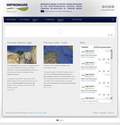 The website 'http://www.improware.eu/' courtesy of @Pinstamatic (http://pinstamatic.com)