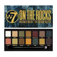 W7 On The Rocks Eyeshadow Palette
