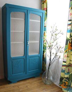 petit meuble peinturer avec peinture la craie avec un fini gris inspiration meubles. Black Bedroom Furniture Sets. Home Design Ideas