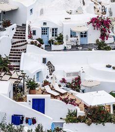 Güzel geceler/ Happy nites   #Oia - #Santorini - #Greece