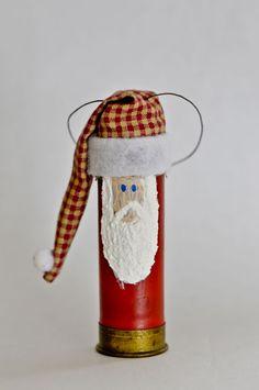 Shot gun shell Santas
