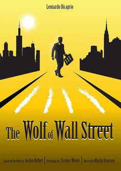 The Wolf Of Wall Street Alternative movie poster