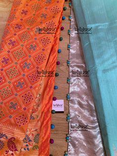 Saree Tassels Designs, Saree Kuchu Designs, Blouse Neck Designs, Embroidery Suits Design, Hand Embroidery, Silk Thread Bangles Design, Bridal Silk Saree, Simple Sarees, Designer Blouse Patterns