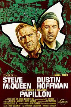 Titolo originale: Papillon Durata:150' Anno:1973 Produzione:USA Regia: Franklin J. Schaffner Cast: Dustin Hoffman, Steve McQueen, Don Gordon, Victor Jory