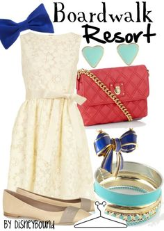 I love all the colors for this outfit! They look so pretty together! :)
