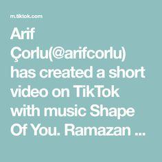 Arif Çorlu(@arifcorlu) has created a short video on TikTok with music Shape Of You. Ramazan Ayınız Mübarek Olsun 🙏#HoşgeldinRamazan #arifcorlu #ramazanayınızmübarekolsun #tiktok Shape Of You, Mortal Kombat, Techno, Guys, Film, A & R, Tv, White Dogs, Musica