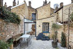 Aus alt mach neu: ein alter Ziegelsteinbau in London