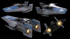 STAR WARS art by our friend Adam Burch.  Check out his A-Wing model.      Keywords: star wars concept art a-wing model with spearhead transp...