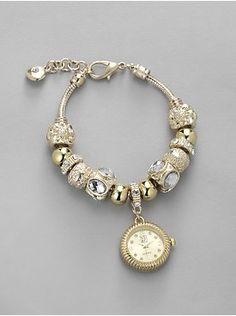 Beaded Bracelet Watch