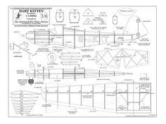 ultralight aircraft plans | Dart Kitten - plan thumbnail image