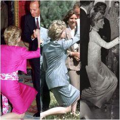 Diana curtseyings