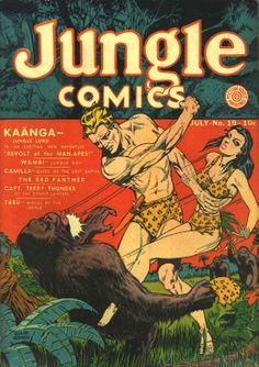 dan zolnerowich | jungle comics 19