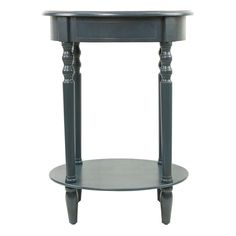 27.5H In. And 17.5 In. In Diameter Distressed Light Blue Side Table | OBX  Family Place LL Queen | Pinterest | Diameter, Cs And Ut
