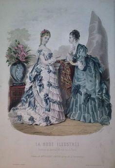 La Mode Illustrée 1873