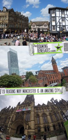23 reasons you should visit Manchester when you come to England! > https://theroamingrenegades.com/2017/09/things-to-do-in-manchester.html   #England #Manchester #UK #Britain #VisitEngland #IloveMCR #VisitManchester #history #Victorian #Industrialrevolution #Sprit #Manchesterbee