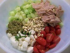Shelly's Tuna Caprese Salad #salads